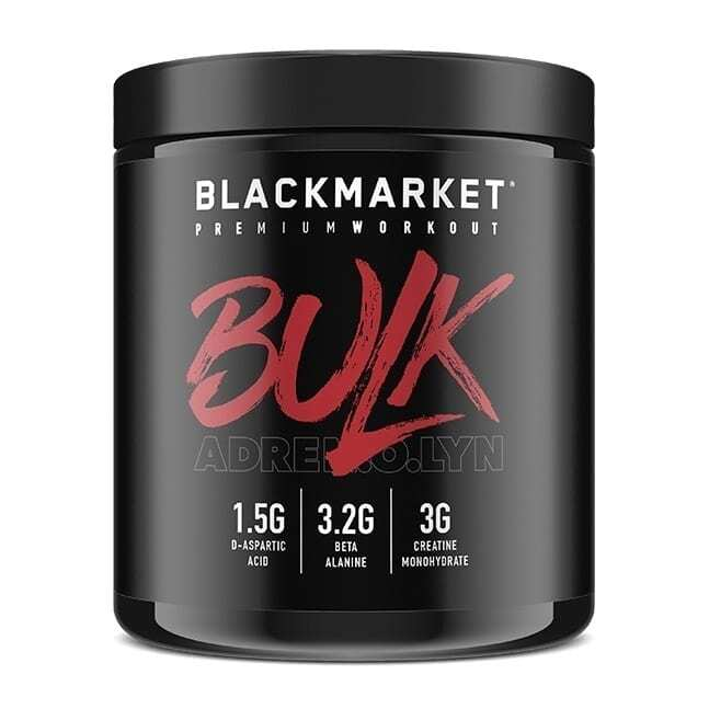 Bulk - Pre Workout - Fruit Punch - 30 Servings By Blackmarket Labs-0