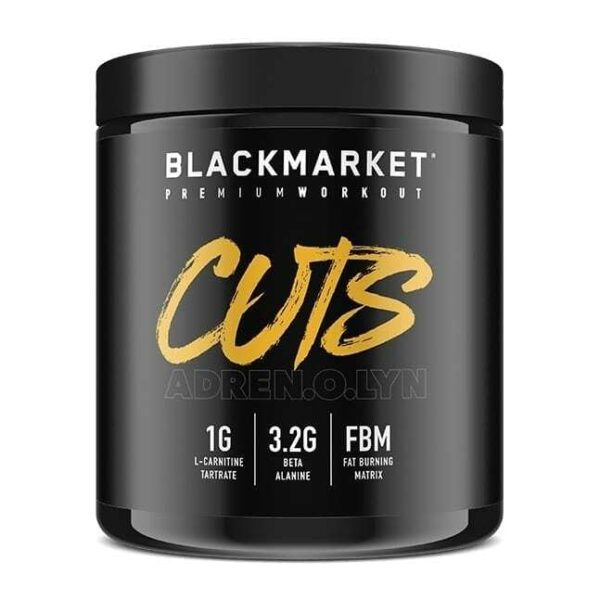 Adrenolyn Cuts - Pre Workout - Fruit Punch - 30 Servings By Blackmarket Labs-0
