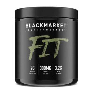 Fit - Pre Workout - Watermelon - 30 Servings By Blackmarket Labs-0