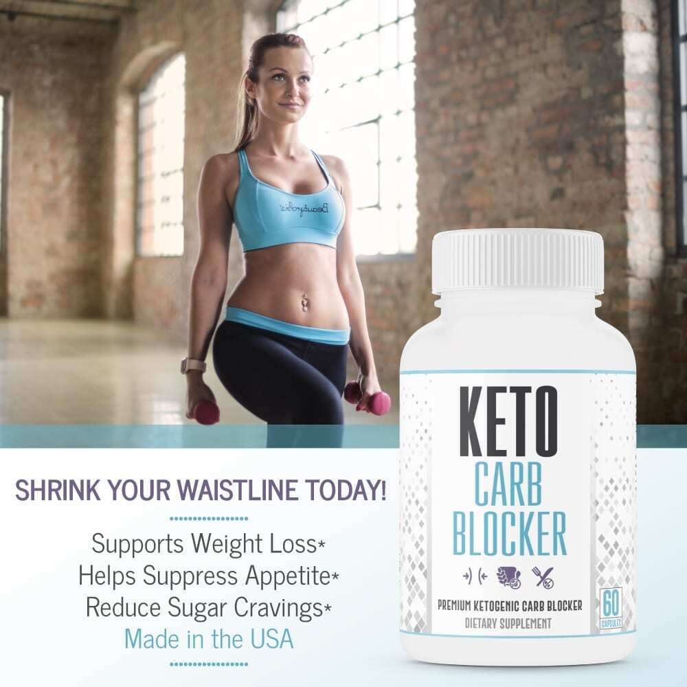 Max Strength Keto Carb Blocker 1200mg - 60 Capsules-3606