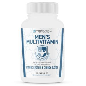 Men's Multivitamin – Daily Support for Men's Nutritional Needs – 60 Capsules-0