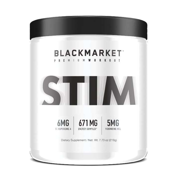 Stim - Pre Workout - Tiger's Blood - 30 Servings By Blackmarket Labs-0
