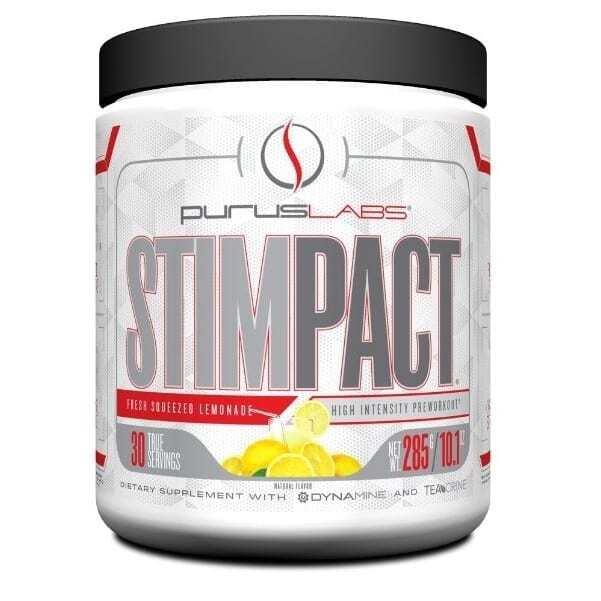 Stimpact - Fresh Squeezed Lemonade - 30 Servings by Purus Labs-0