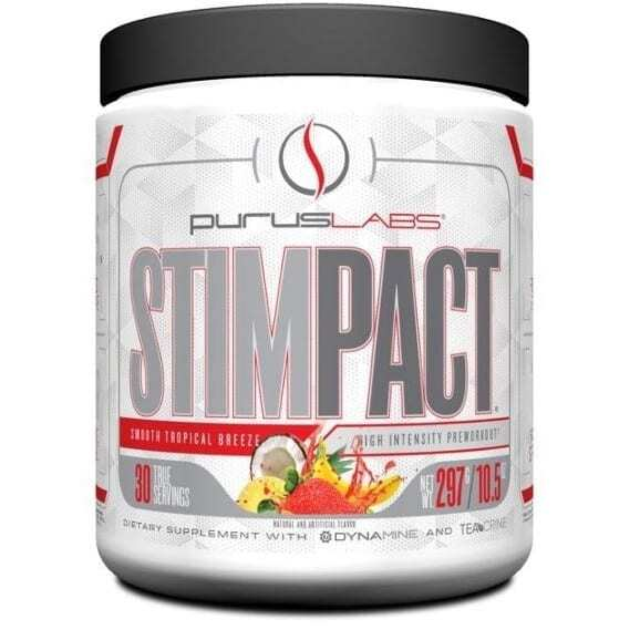Stimpact - Smooth Tropical Breeze - 30 Servings by Purus Labs-0