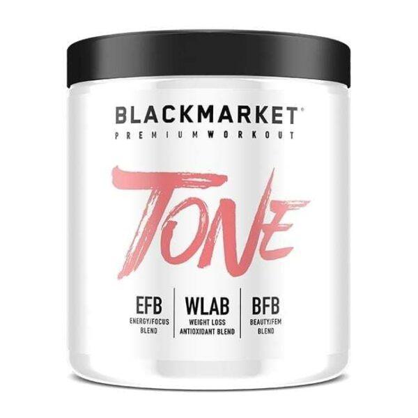 Tone - Women's Pre Workout - Raspberry Lemonade - 30 Servings By Blackmarket Labs-0