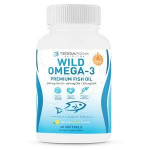 Wild Omega 3 Fish Oil