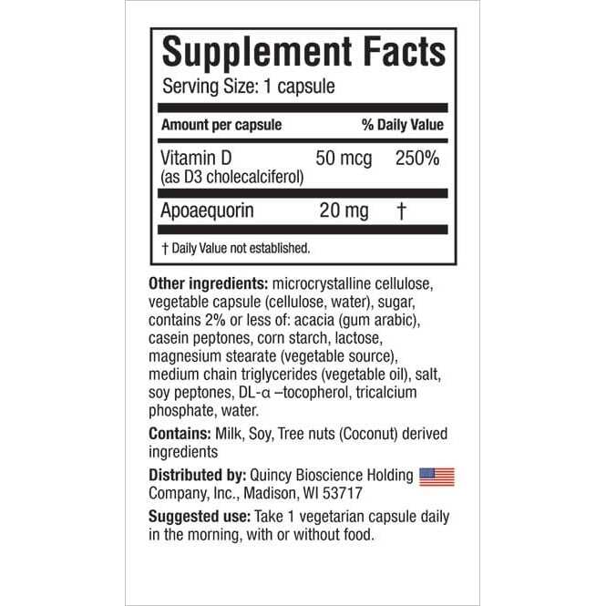 Prevagen Extra Strength - 20mg - 2 Pack - 60 Capsules-3661
