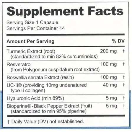 Instaflex Advanced Joint Support - 14 Capsules-3699