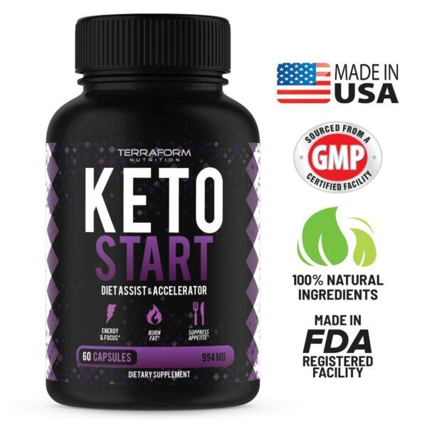 Keto Start – Keto Diet Supplement – 60 Capsules-3702