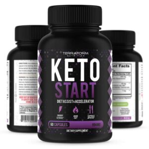 Keto Start – Keto Diet Supplement – 60 Capsules-0
