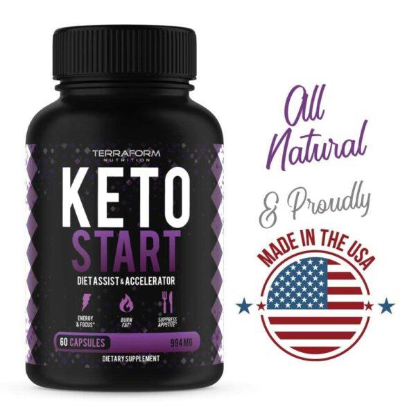Keto Start – Keto Diet Supplement – 60 Capsules-3708